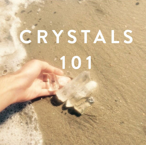 Sunday, May 7th -- Crystals 101