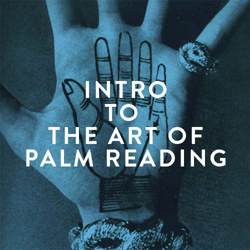 Sunday, November 19th -- Intro to The Art of Palm Reading