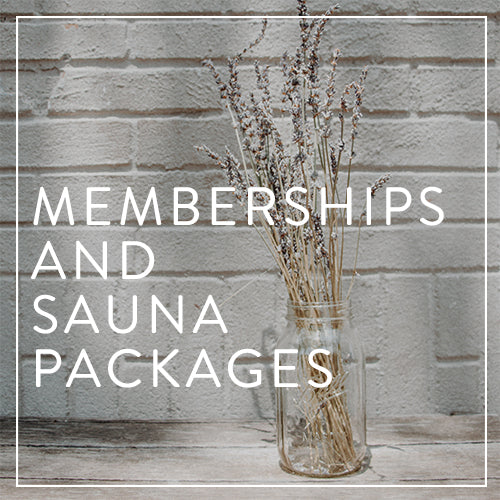 Memberships & Sauna Packages