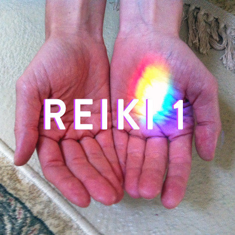 Sunday, April 9th -- Reiki 1 Training with Lisa