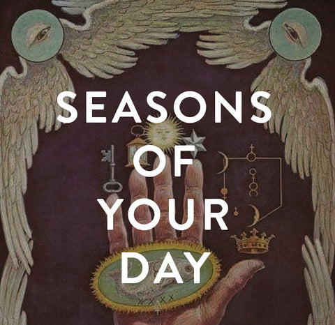 Thursday, March 23rd -- Seasons of Your Day