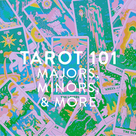 Sundays in October -- TAROT 101: Majors, Minors, & More!