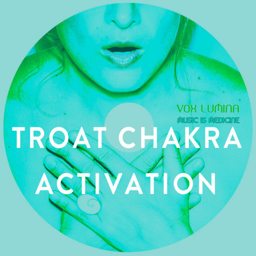 Sunday, June 8th -- You Are What You Speak: A Throat Chakra Yoga Activation
