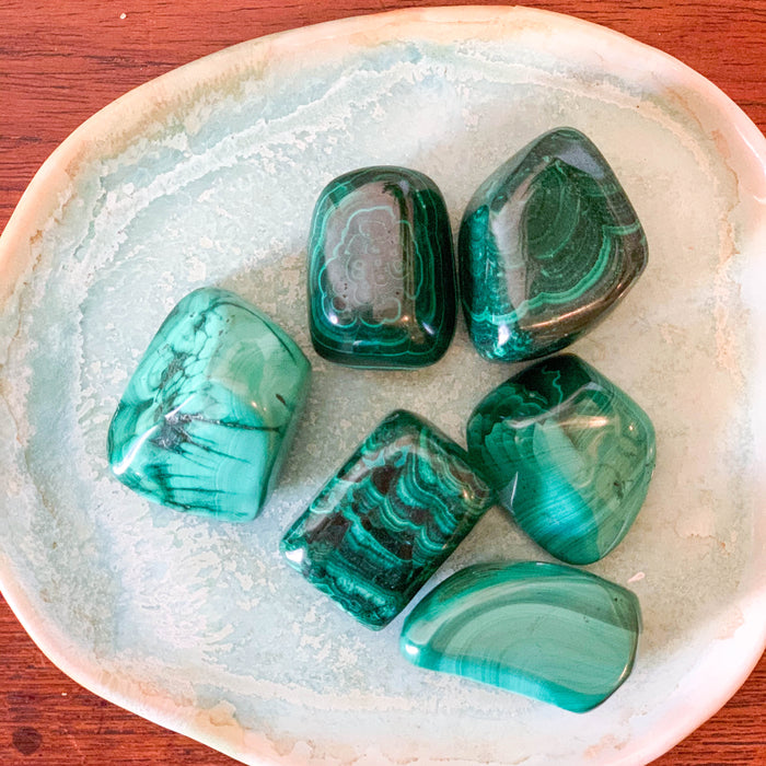 Malachite Pebbles