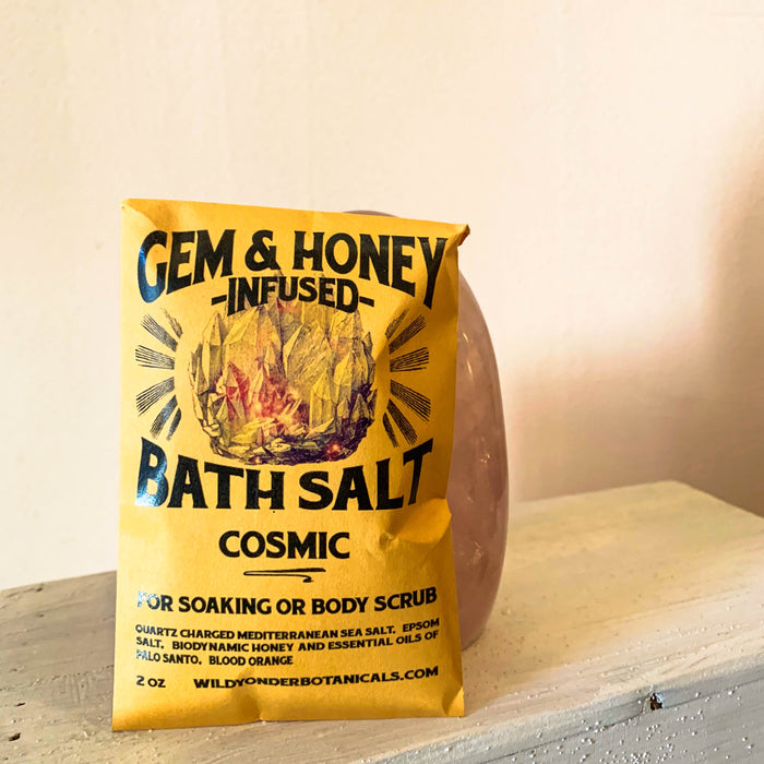 Wild Yonder Gem & Honey Infused Bath Salt