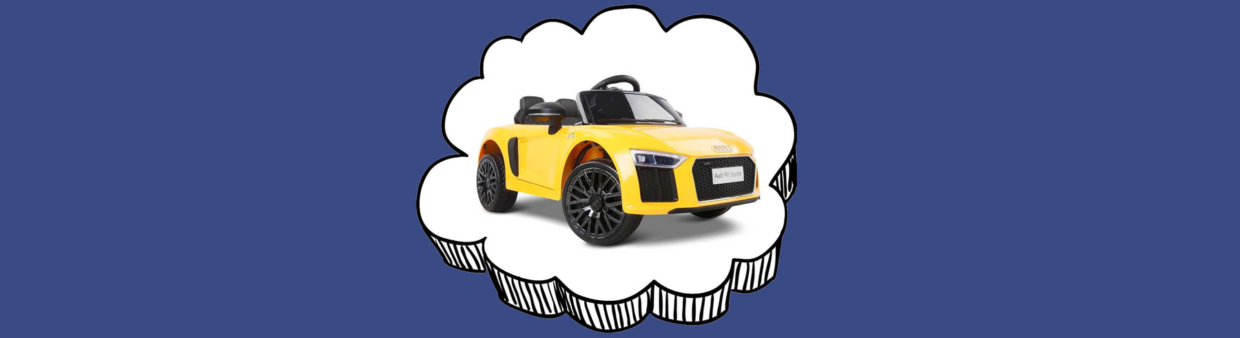 Audi R8 Spyder Licensed Kids Ride On Car with Remote Control