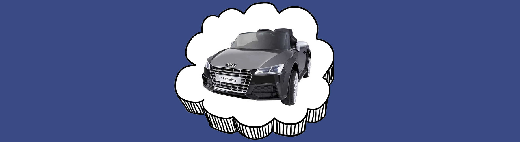 Audi TT S Roadster Licensed Kids Ride On Car