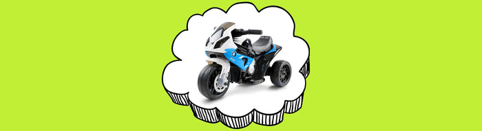 BMW Officially Licensed S1000RR Kids Ride On Motorbike Motorcycle Trike