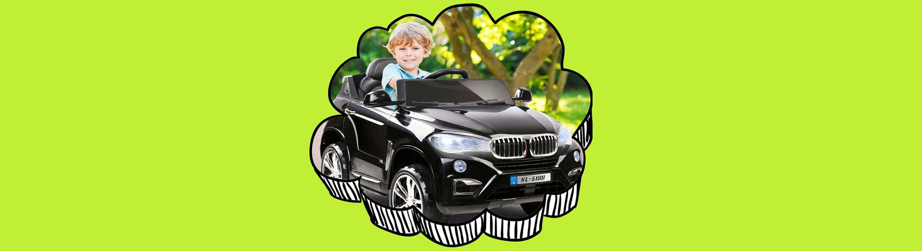 BMW X5 Inspired Kids Ride on SUV with Remote Control
