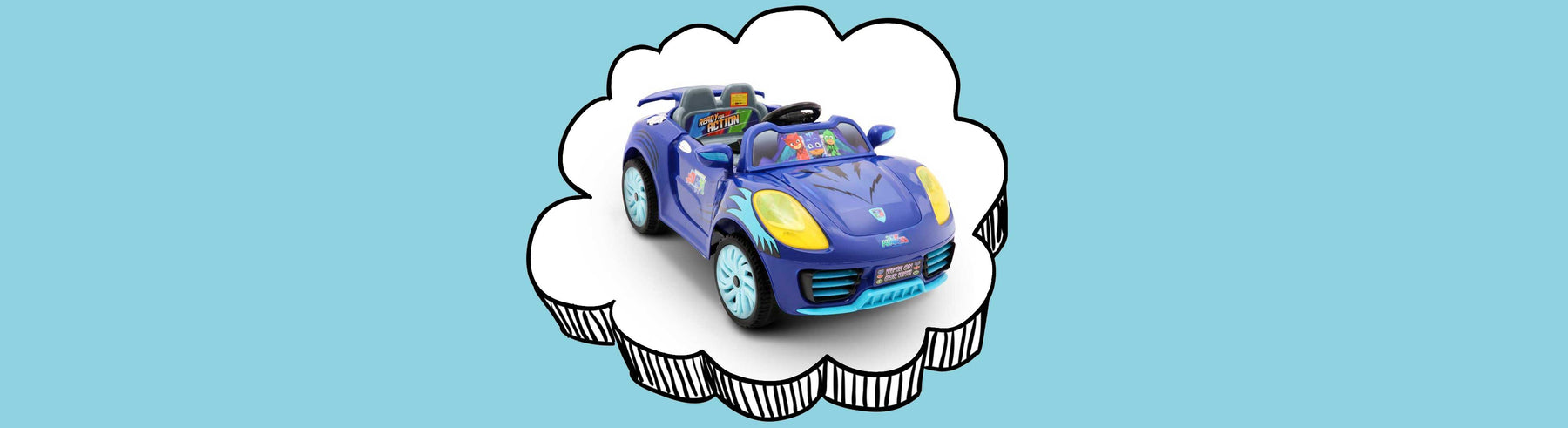 Disney Licensed PJ Masks Kids Ride On Car