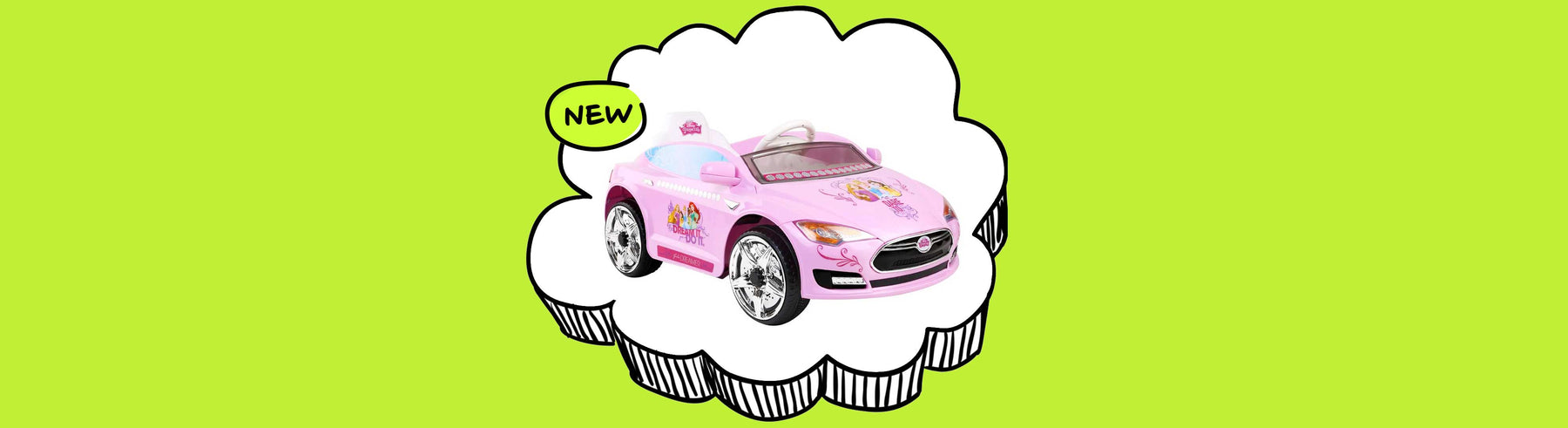 Disney Princesses Licensed Kids Ride On Car
