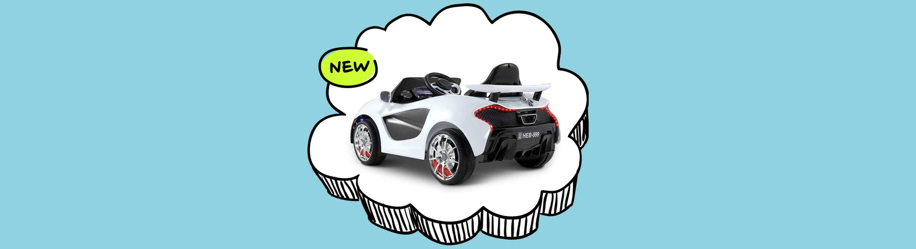 McLaren Inspired Kids Ride on Car with Remote Control