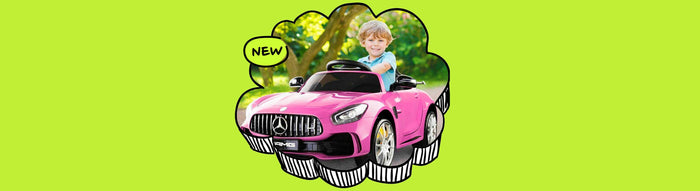 Mercedes Benz AMG GT R Licensed Kids Ride On Car with Remote Control