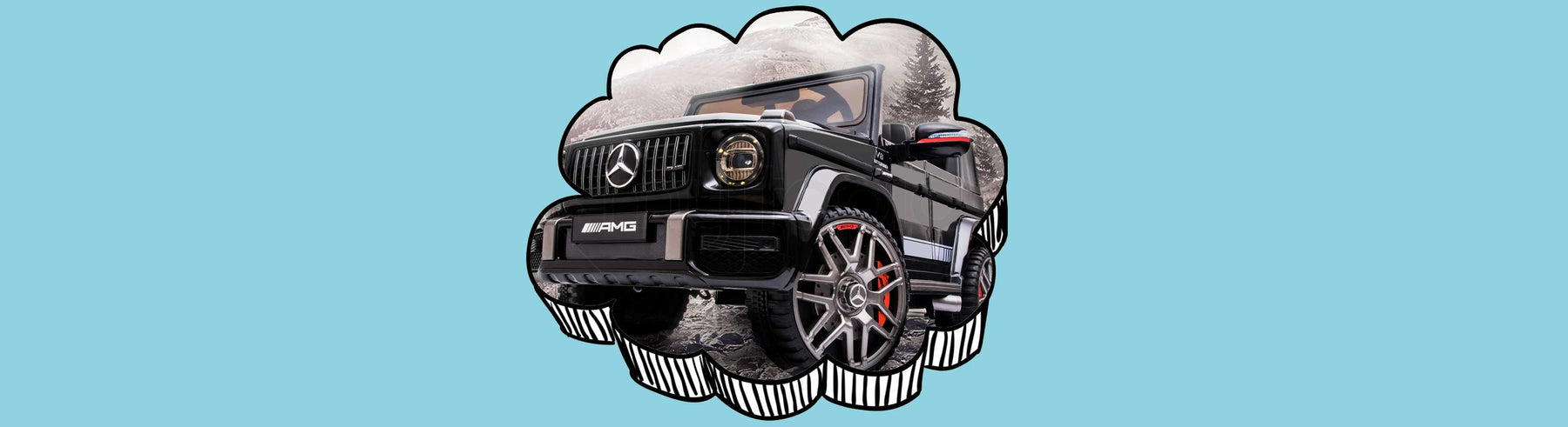 Mercedes Benz G63 AMG Licensed Kids Ride On Car with Remote Control