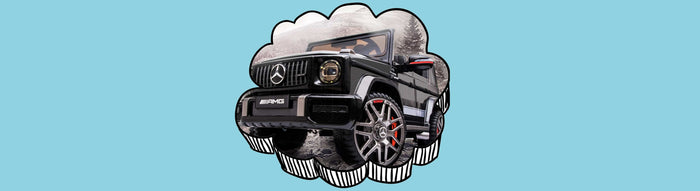 Officially Licensed Mercedes Benz G63 AMG SUV Kids Ride On Car