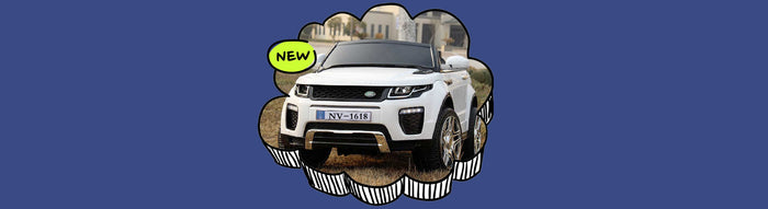 Range Rover Evoque Inspired Kids Ride On Car with Remote Control
