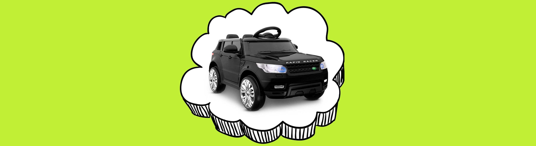 Range Rover Inspired Kids Ride On Car with Remote Control