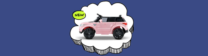 Range Rover inspired Kids Ride On Car_Pink