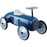 Kids Classic Vintage Racer Metal Ride On Push Car | Night Blue