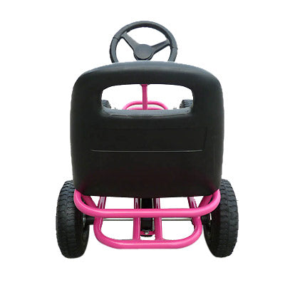 Mighty Racer Premium Kids Pedal Powered Go Kart | Pink