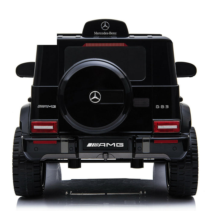 Mercedes Benz G63 AMG Licensed Kids Ride On Car with Remote Control | Black/Red