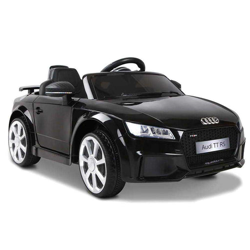 Audi TT RS Licensed Kids Ride On Car with Remote Control Black