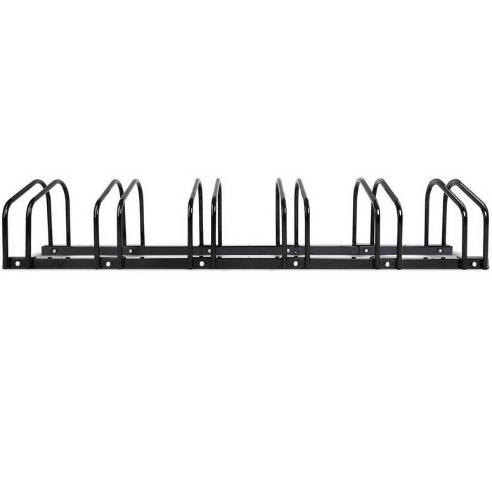 Stand Tall Portable 6 Bike Parking Rack Stand | Black