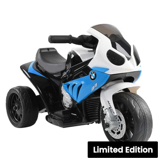 BMW Licensed S1000RR Kids Ride On Motorbike Motorcycle Blue
