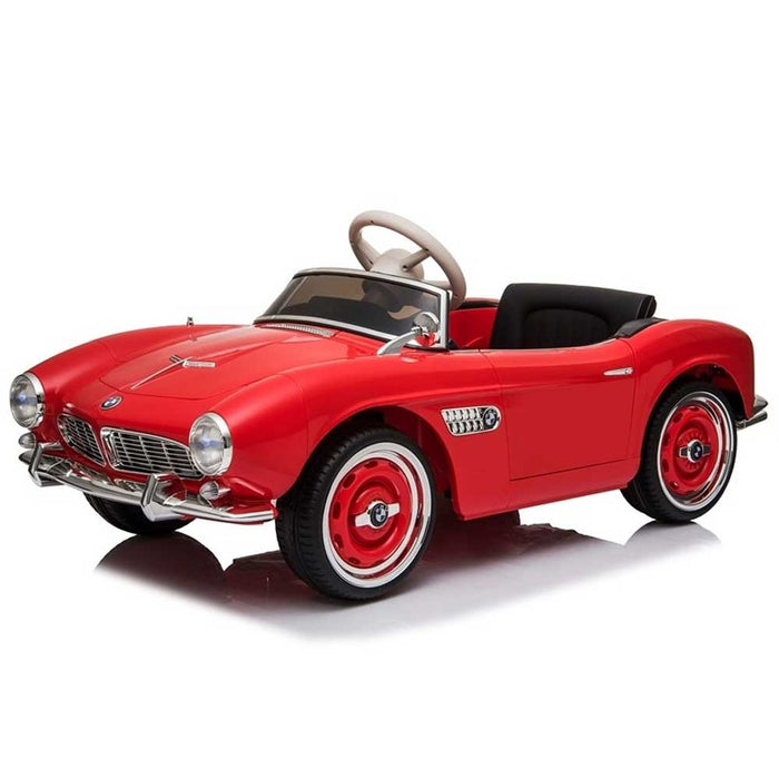 BMW Vintage Inspired Kids Ride On Car | Red