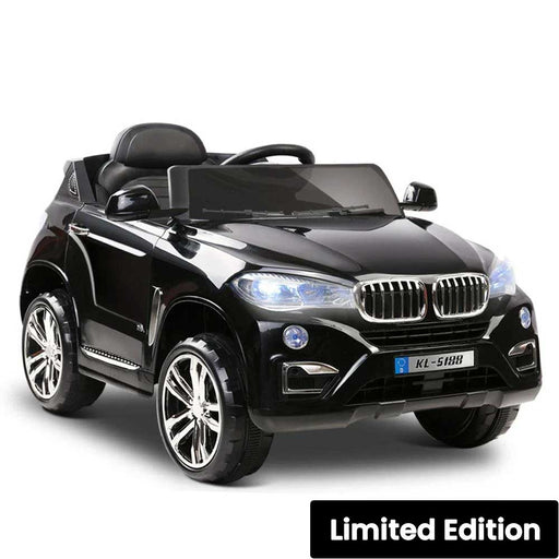 BMW X5 Inspired Kids Ride On SUV with Remote Control Black