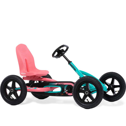 Berg Buddy Kids Pedal Powered Go Kart | Lua Pink & Mint