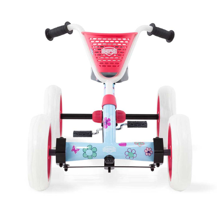 Berg Buzzy Kids Pedal Powered Go Kart with Basket & Stickers | Bloom