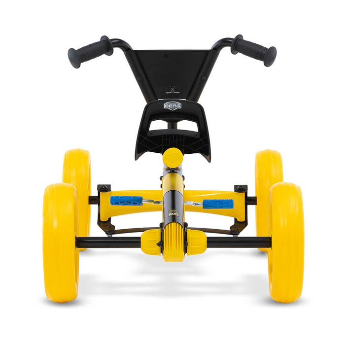 Berg Buzzy Kids Pedal Powered Go Kart | BSX Yellow