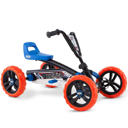 Berg Buzzy Off Road Kids Pedal Powered Go Kart | Nitro Black
