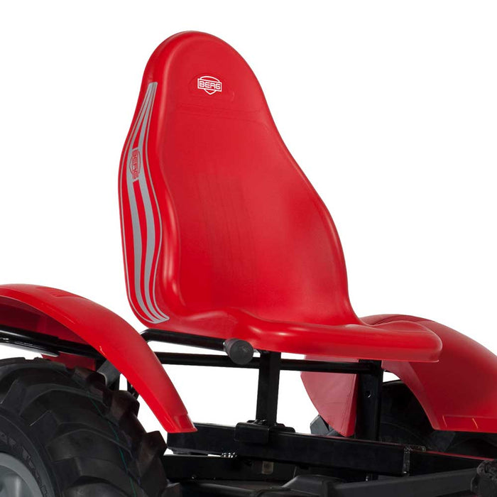 Berg Extra Officially Licensed Case I-H Tractor Inspired Kids & Adults Pedal or 3 Gear Powered Go Kart | Trademark Red