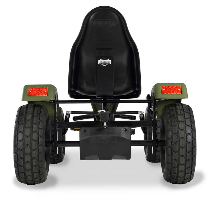 Berg Extra Officially Licensed Jeep Revolution Inspired Kids & Adults Pedal or 3 Gear Powered Go Kart | Willy's Green
