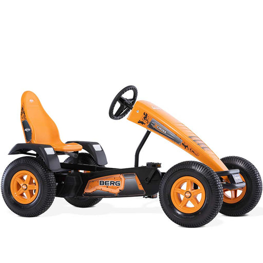 Berg Extra X-Cross Kids & Adults Pedal or 3 Gear Powered Go Kart | Yam Orange