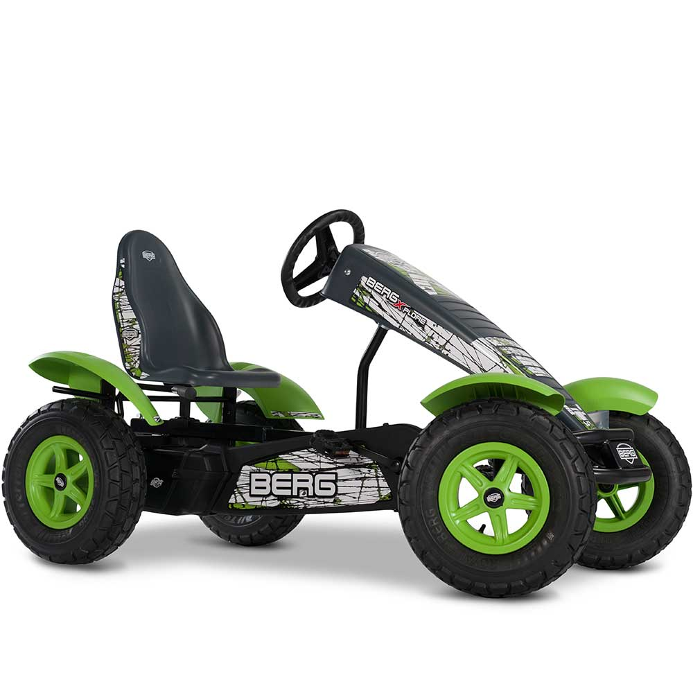 Berg Extra X-Plore Kids & Adults Pedal or 3 Gear Powered Go Kart | Modern Camo