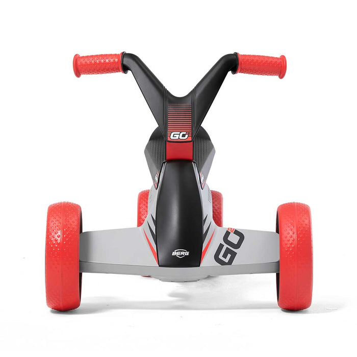 Berg Go2 Kids Push & Pedal Powered Go Kart | SparX Red