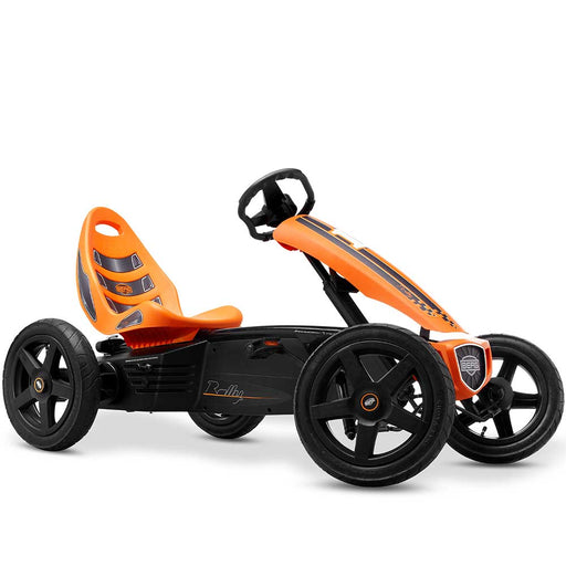Berg Rally Kids Pedal Powered Go Kart | Orange/Black