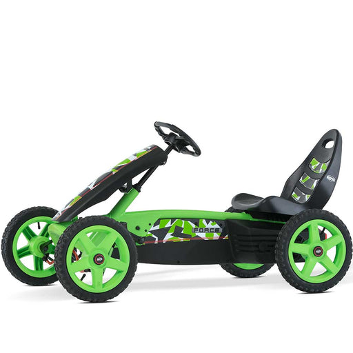 Berg Rally Kids Pedal Powered Go Kart | Force Green