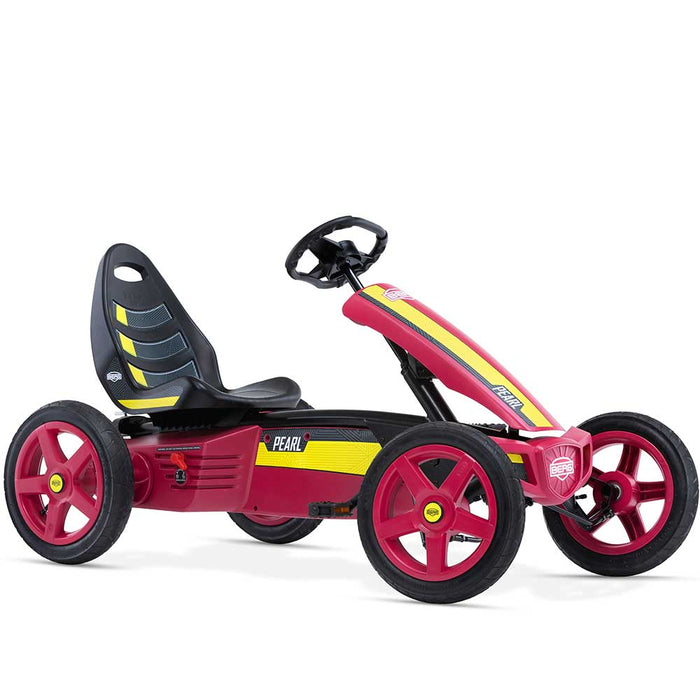 Berg Rally Kids Pedal Powered Go Kart | Crimson/Yellow Pearl
