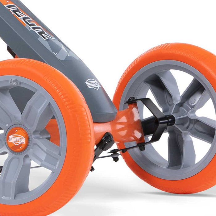 Berg Reppy Kids Pedal Powered Go Kart | Racer Grey