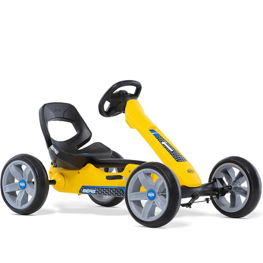Berg Reppy Kids Pedal Powered Go Kart | Rider Yellow