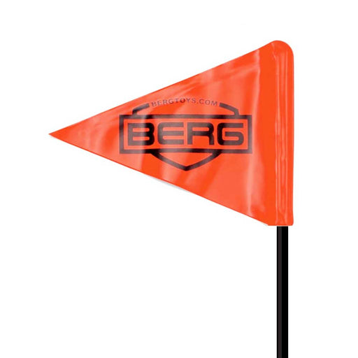 Berg Safety Flag for all Buddy Kids Pedal Carts | Black