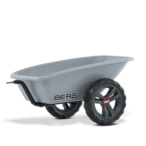 Berg Trailer & Tow Bar Hitch Mount for all Buzzy Pedal Powered Go Carts | Grey/Black