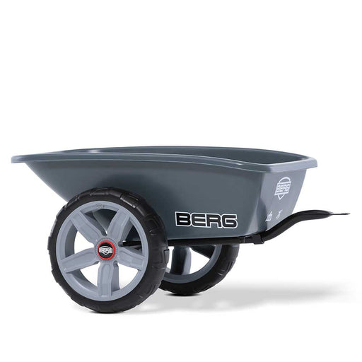 Berg Trailer & Tow Bar Hitch Mount for all Reppy Pedal Powered Go Carts | Grey/Black