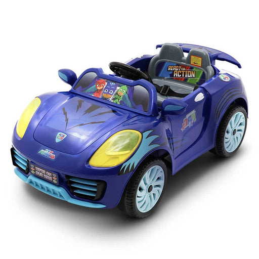 Disney Licensed PJ Masks Kids Ride On Car | Blue