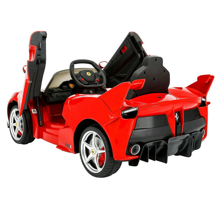 Ferrari LaFerrari Officially Licensed Kids Ride On Car with Remote Control | Ferrari Red