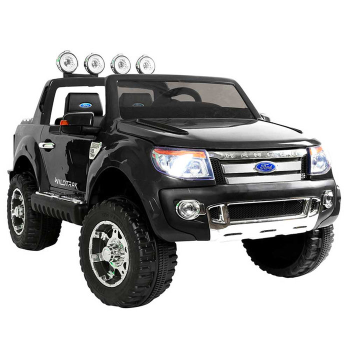 Ford Licensed F150 Ranger Deluxe Kids Ride On Car with Remote Control Black